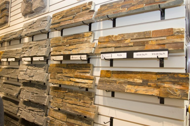Kinslate Showroom Edmonton Natural Stone Rock Samples
