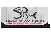 Piranha Stucco Logo