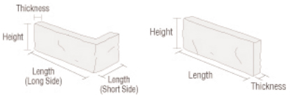 Stone Size Specifications
